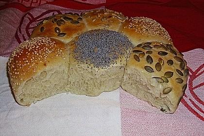 Frühstücks - Brötchen für Morgenmuffel 31