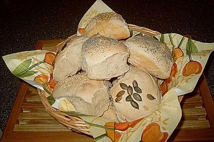 Frühstücks - Brötchen für Morgenmuffel 135