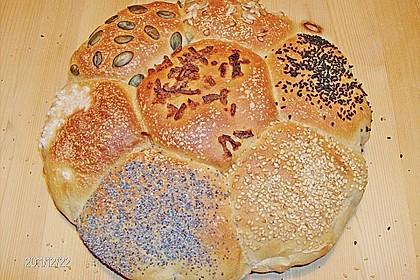 Frühstücks - Brötchen für Morgenmuffel 95