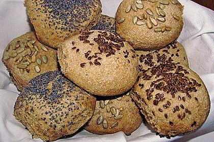 Frühstücks - Brötchen für Morgenmuffel 64