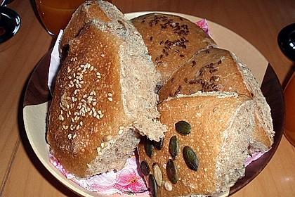 Frühstücks - Brötchen für Morgenmuffel 87