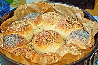 Frühstücks - Brötchen für Morgenmuffel
