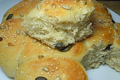 Frühstücks - Brötchen für Morgenmuffel 32