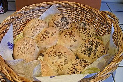 Frühstücks - Brötchen für Morgenmuffel 50