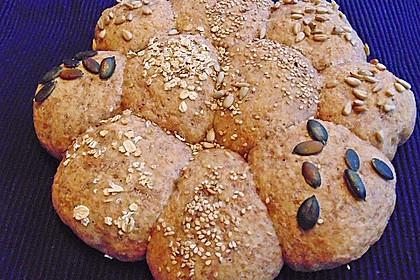 Frühstücks - Brötchen für Morgenmuffel 45