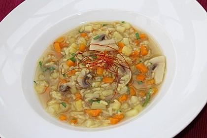 Kleinere Reissuppe