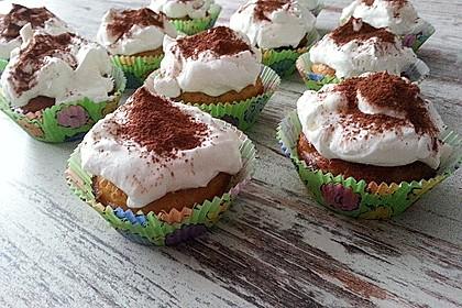 Tiramisu-Cupcakes low carb 8
