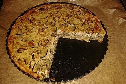 Champignon-Zucchini-Tarte