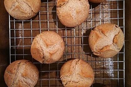 Glutenfreie herzhafte Brötchen (Bild)