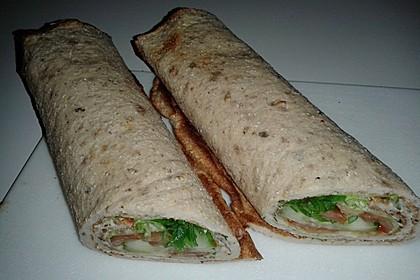 Low-Carb Pfannkuchen-, Crepes-, Wrap-, Pizza-, Palatschinkenteig