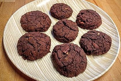 Bohnencookies / After-Workout-Cookies (Bild)