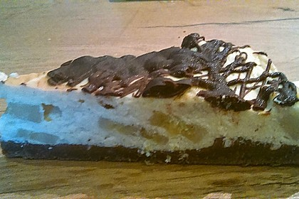 Double Chocolate Banana Cheesecake