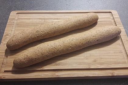 Low Carb Baguette Brötchen 3