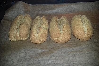 Low Carb Baguette Brötchen