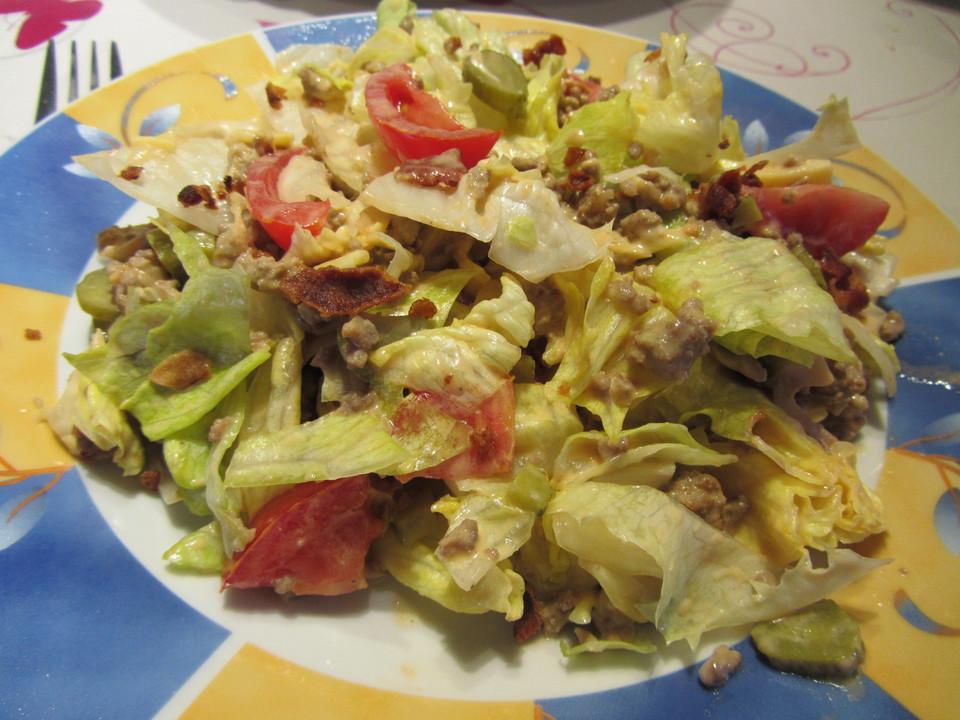 Big Mac Salat Low Carb Von Dorette1com Chefkoch