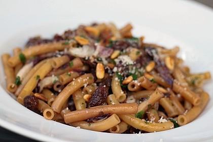 Safran-Pasta mit Radicchio 1