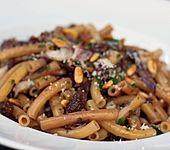 Safran-Pasta mit Radicchio (Bild)