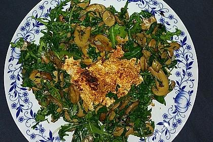 Gebratener Fetakäse mit Pilzen 6