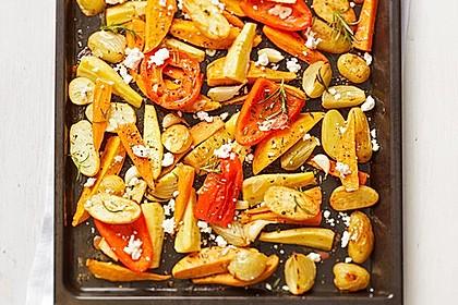 Ofengemüse mit Kräutern der Provence 6