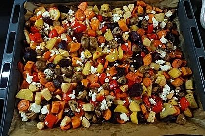 Ofengemüse mit Kräutern der Provence