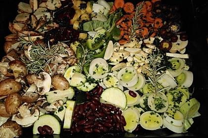 Ofengemüse mit Kräutern der Provence 5
