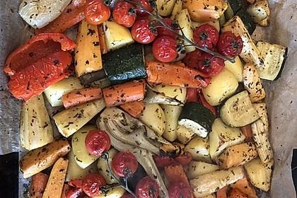 Ofengemüse mit Kräutern der Provence 3