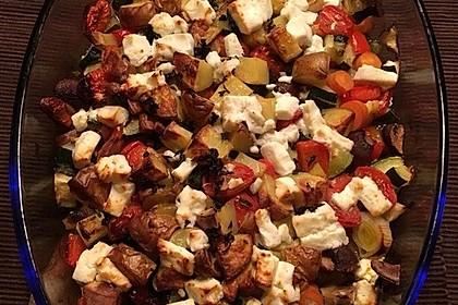 Ofengemüse mit Kräutern der Provence 10