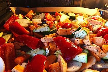 Ofengemüse mit Kräutern der Provence 8