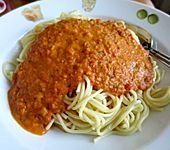 Fruchtige Tomaten-Sahne-Sauce (Bild)
