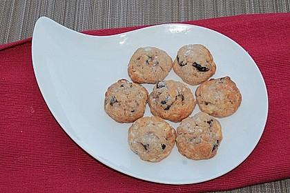 Amarenakenakirsch-Weiße-Schokolade-Cookies