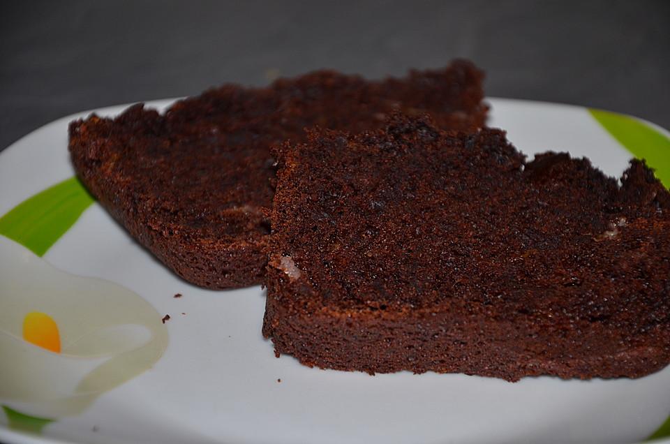 Saftiger Veganer Schoko Bananen Kuchen Von Alternativ Kochen