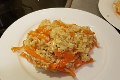 Veganes Karotten-Risotto 3