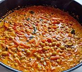 Unkompliziertes Kichererbsen-Curry (Bild)