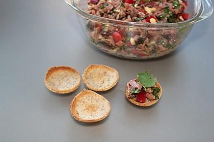 Asiatischer Roastbeef-Salat mit Spinat 1