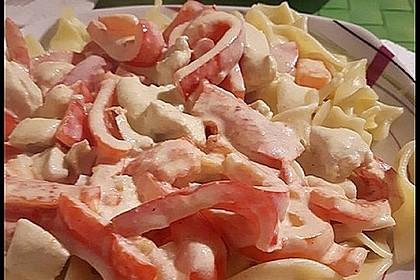 Frischkäse-Hähnchen (Bild)
