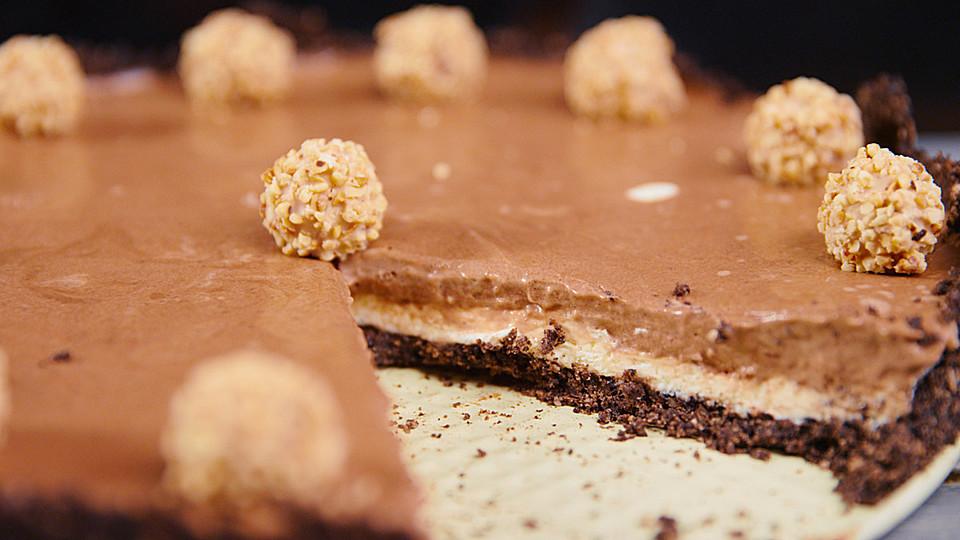 Nutella Oreo Kasekuchen Ohne Backen Von Hannah Kocht Einfach