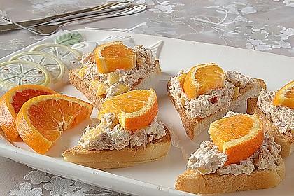 Thunfisch-Frischkäsesandwich