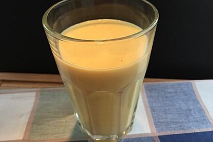 Gelber Smoothie Kurkuma-Mango 3
