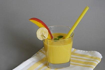 Gelber Smoothie Kurkuma-Mango