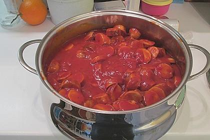 Currywurst Partykübel