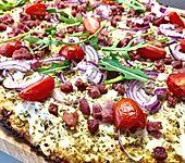 Pizzaboden aus Blumenkohl (Bild)
