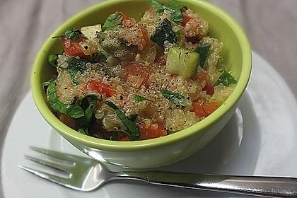 Quinoa-Gemüsepfanne