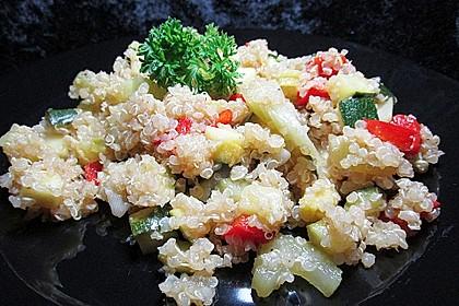 Quinoa-Gemüsepfanne 1