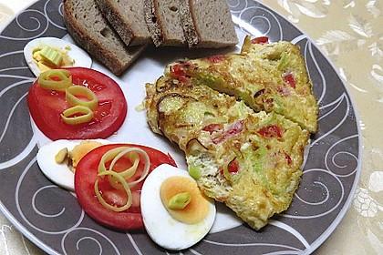 Omelette de luxe à la Andi