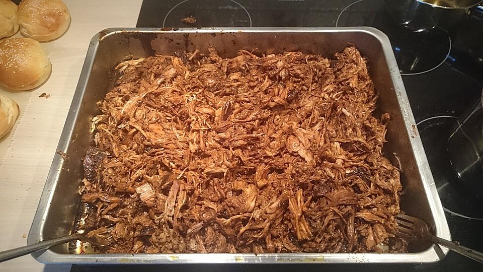Pulled Pork Gasgrill Chefkoch : Pulled pork aus dem ofen von v d r chefkoch