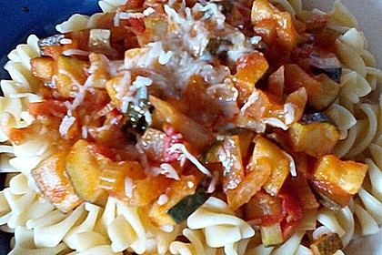 Rigatoni mit Fenchel-Gemüse-Soße 1