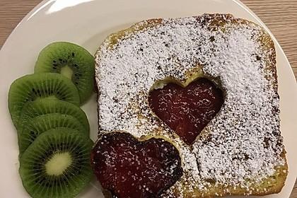Herz French Toast (Bild)