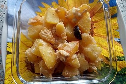 Schnelle Kartoffel-Apfelpfanne (Bild)