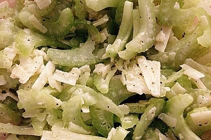 Staudensellerie-Salat 2
