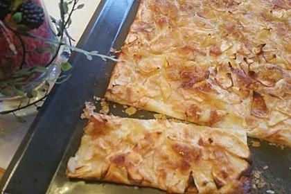 Blätterteig-Tarte mit Apfel und Birne 2